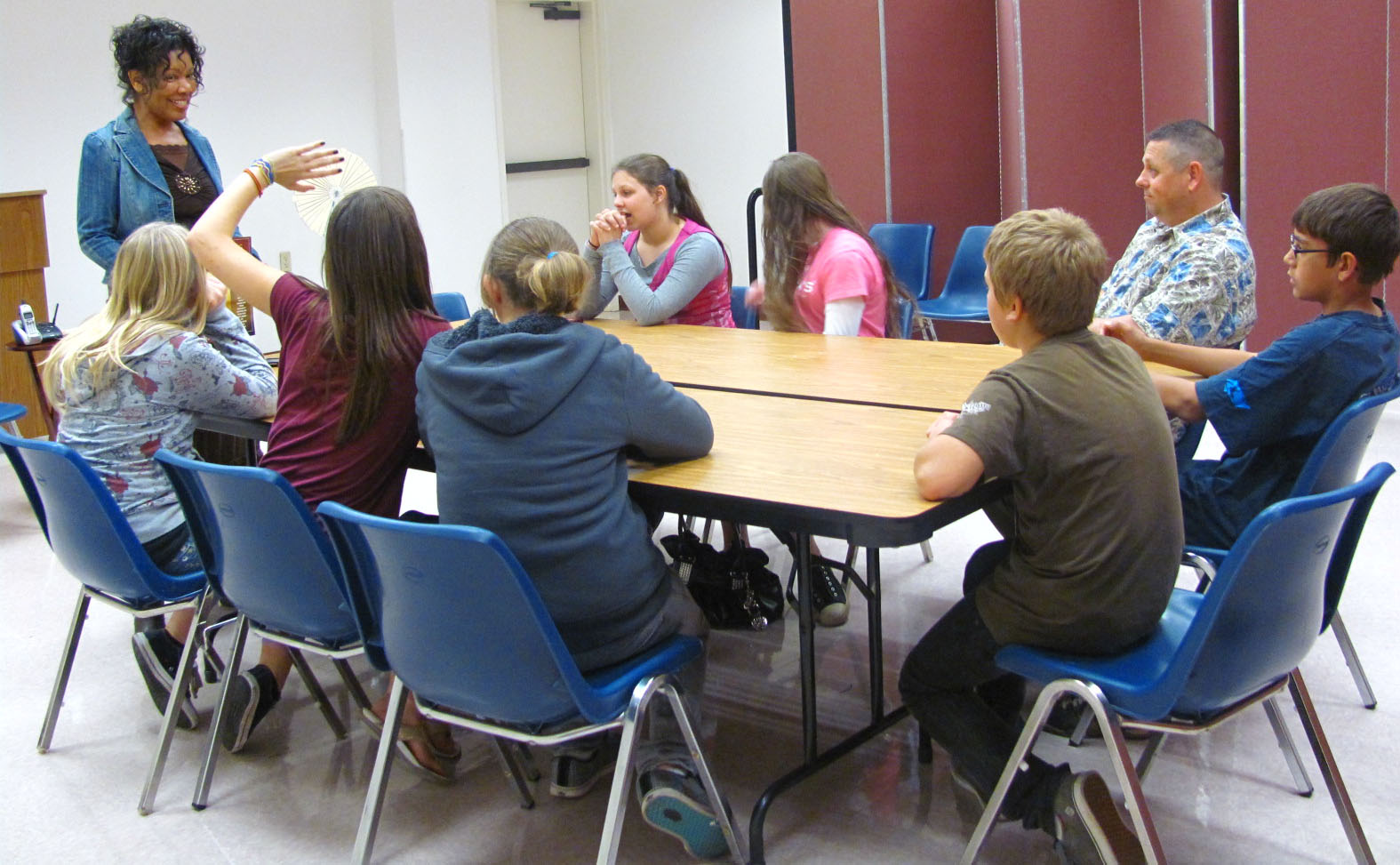 About The Middle School Bible Study Class Middle School